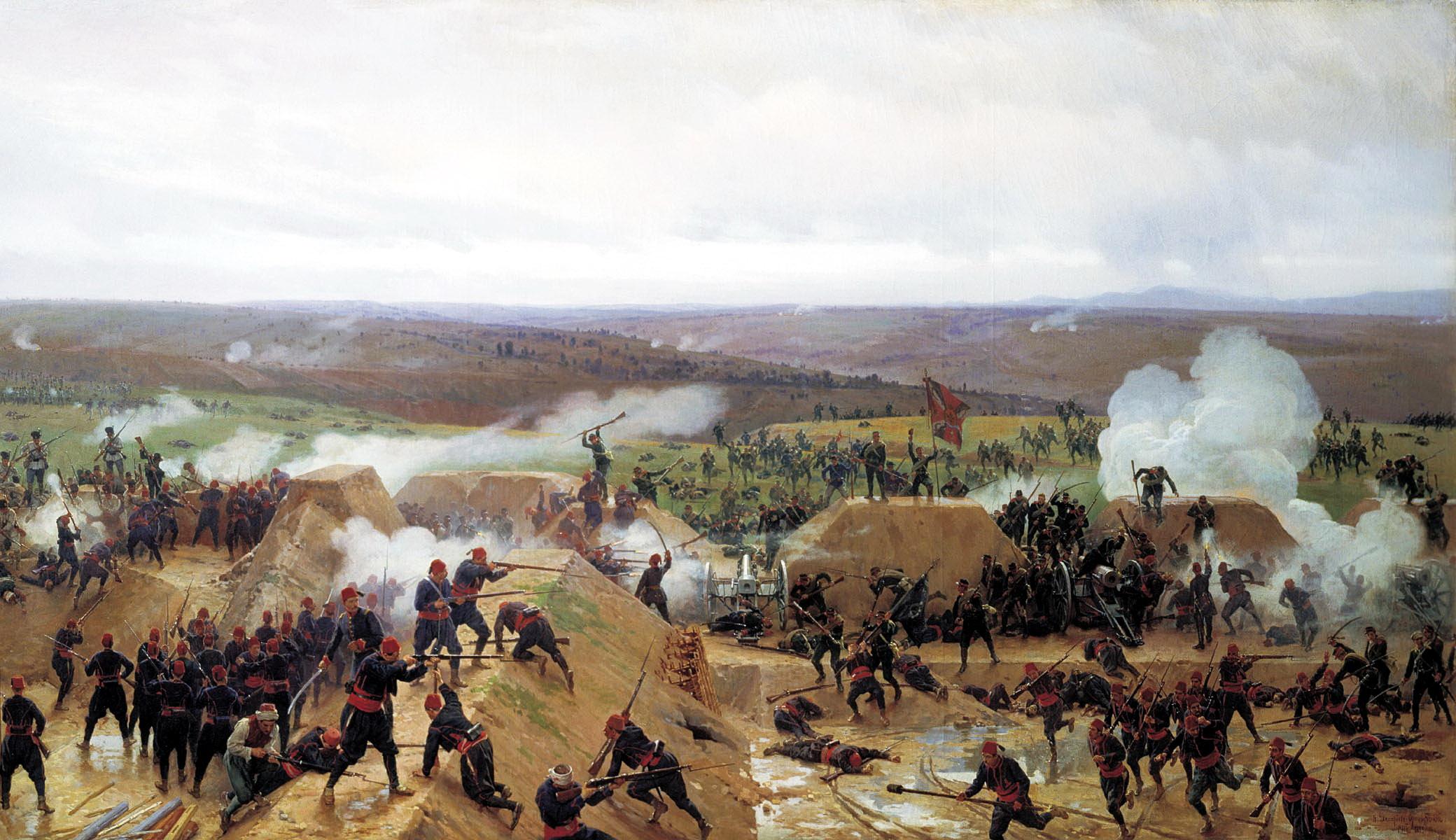 победа русских войск и болгар под Шипкой