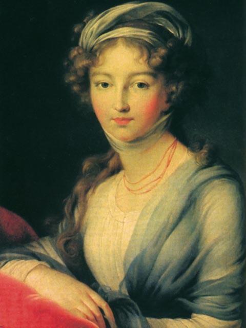 Елизавета Алексеевна (Луиза-Мария-Августа), русская императрица, супруга Александра I