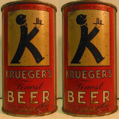 первое баночное пиво