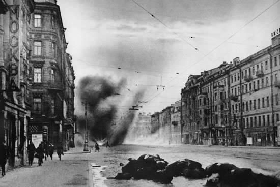 блокада города Ленинграда