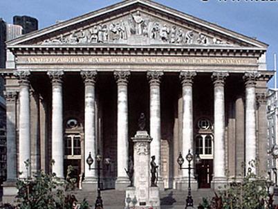 Фондовая Биржа в Лондоне
