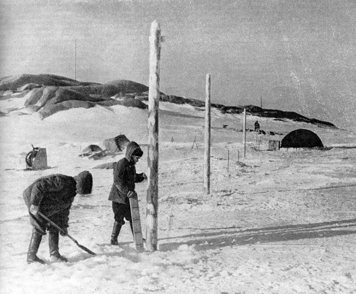 Открыта первая советская антарктическая станция