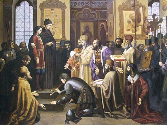 Избрание Михаила Федоровича Романова на царство