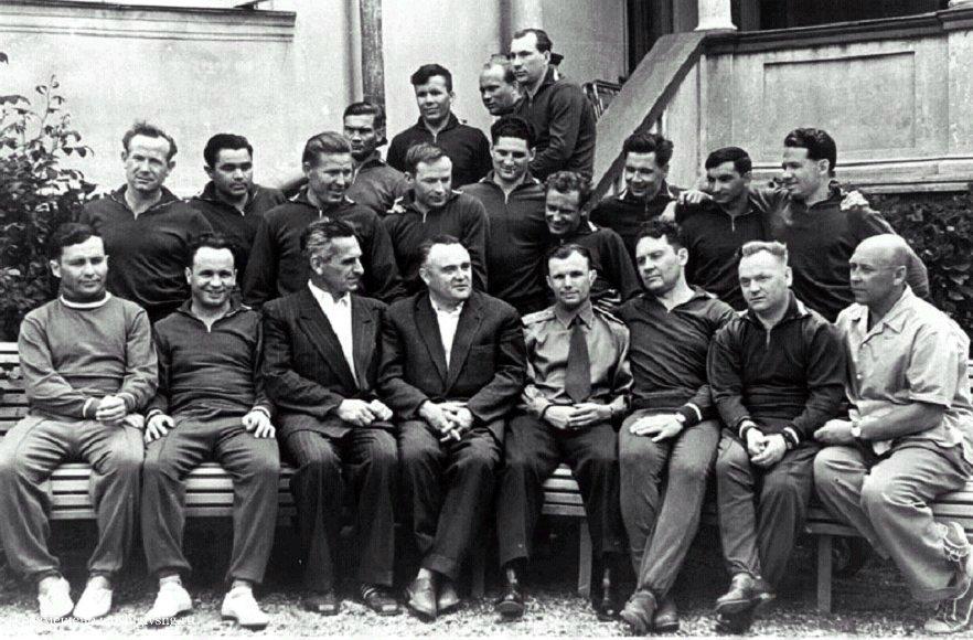В СССР сформирована первая группа космонавтов