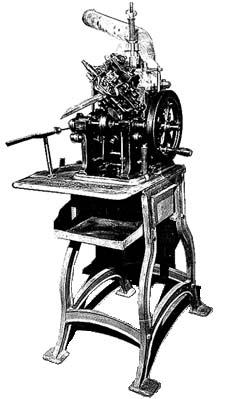 типографская наборная машина
