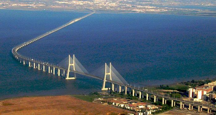 самый длинный европейский мост