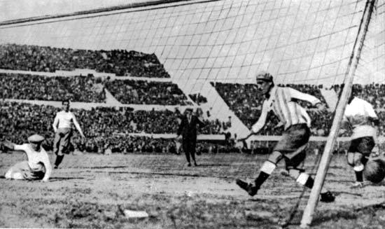 первый в истории Чемпионат мира по футболу