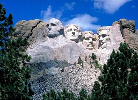национальный мемориал США на горе Рашмор
