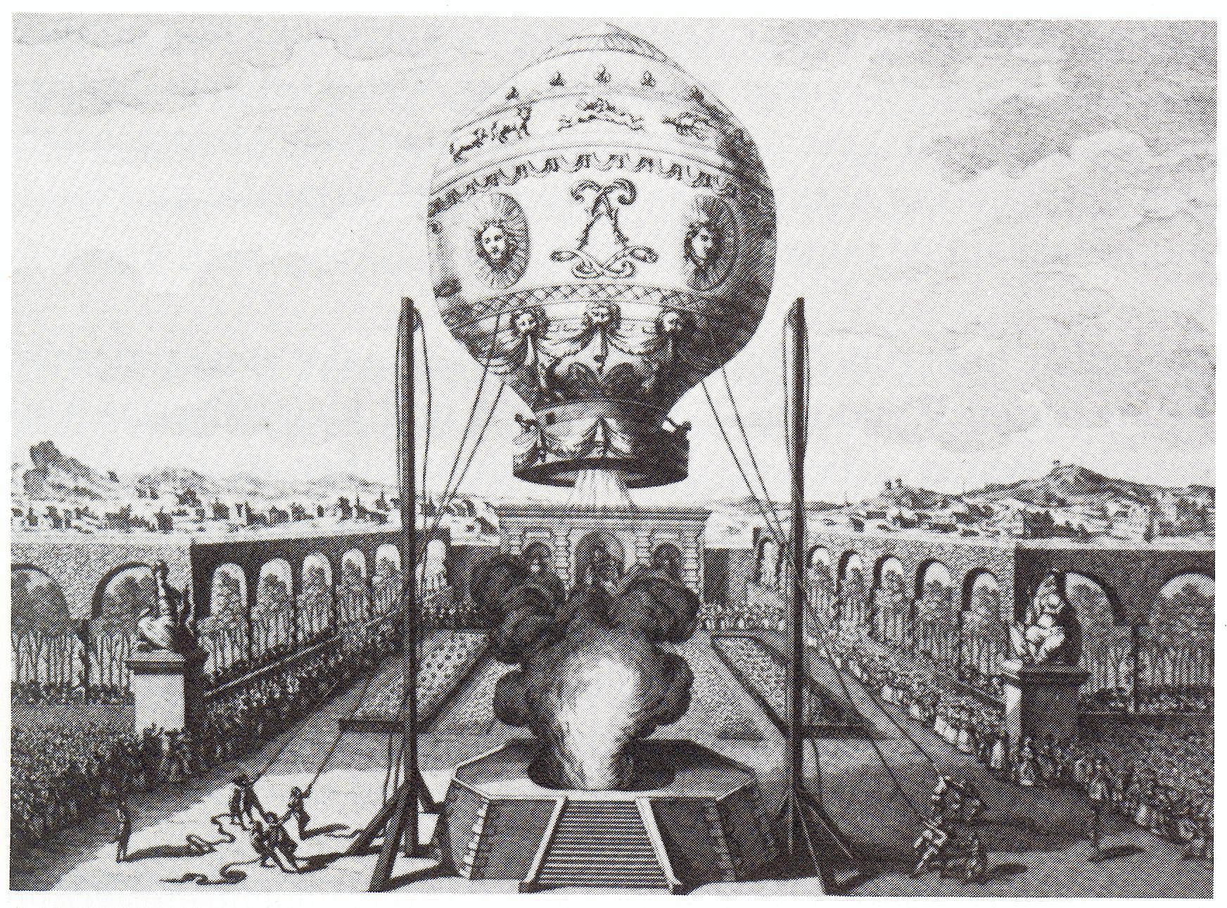 Состоялся первый в истории полет человека на воздушном шаре