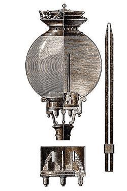 Павел Яблочков изобрел дуговую лампу без регулятора — электрическую «свечу»