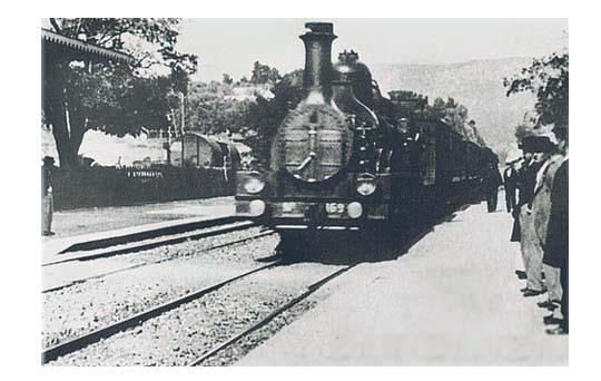 «Прибытия поезда на вокзал Ла Сьота»