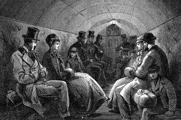 первый вагон в метро