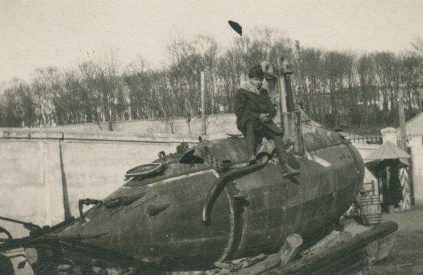 старинных подводных лодок