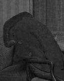 Пальто Есенина на стуле