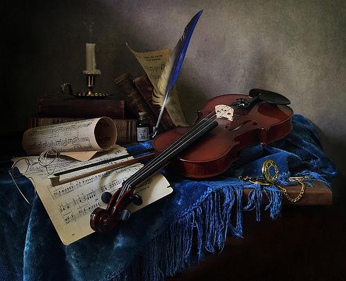 Уголок скрипача.ELENA-TA.янд.