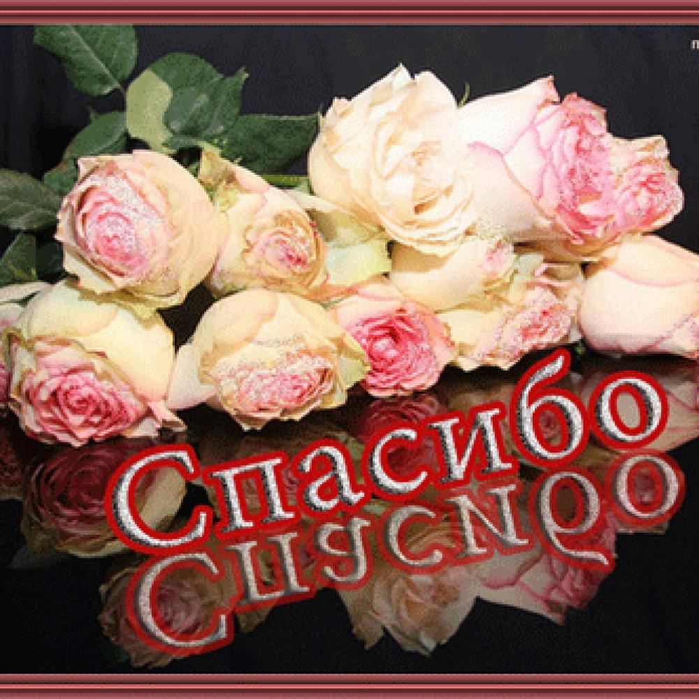 Открытки с цветами и спасибо