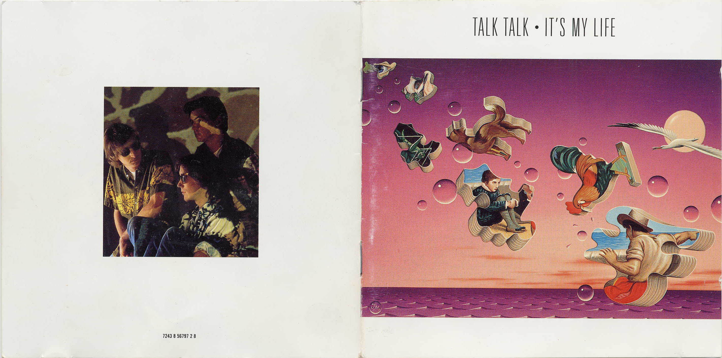 Talk Talk - It's my life booklet 1