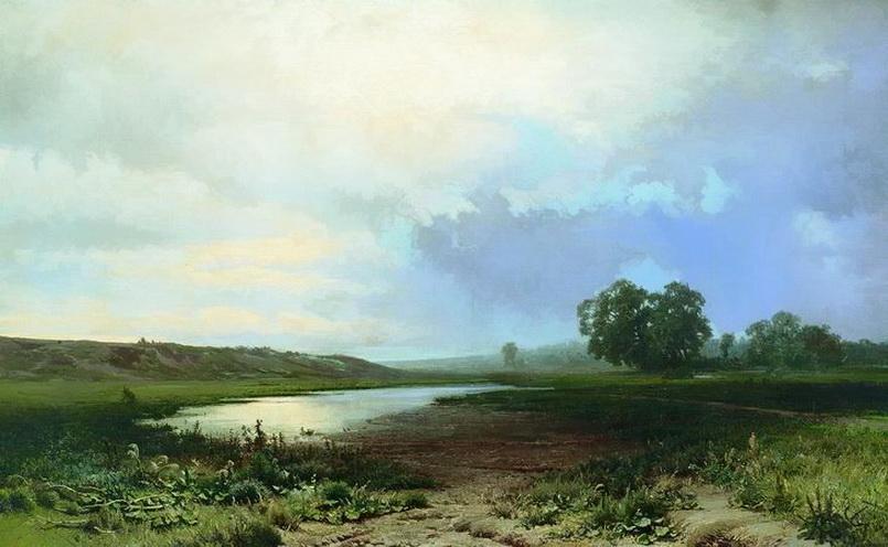 Ф. А. Васильев. Мокрый луг. 1872