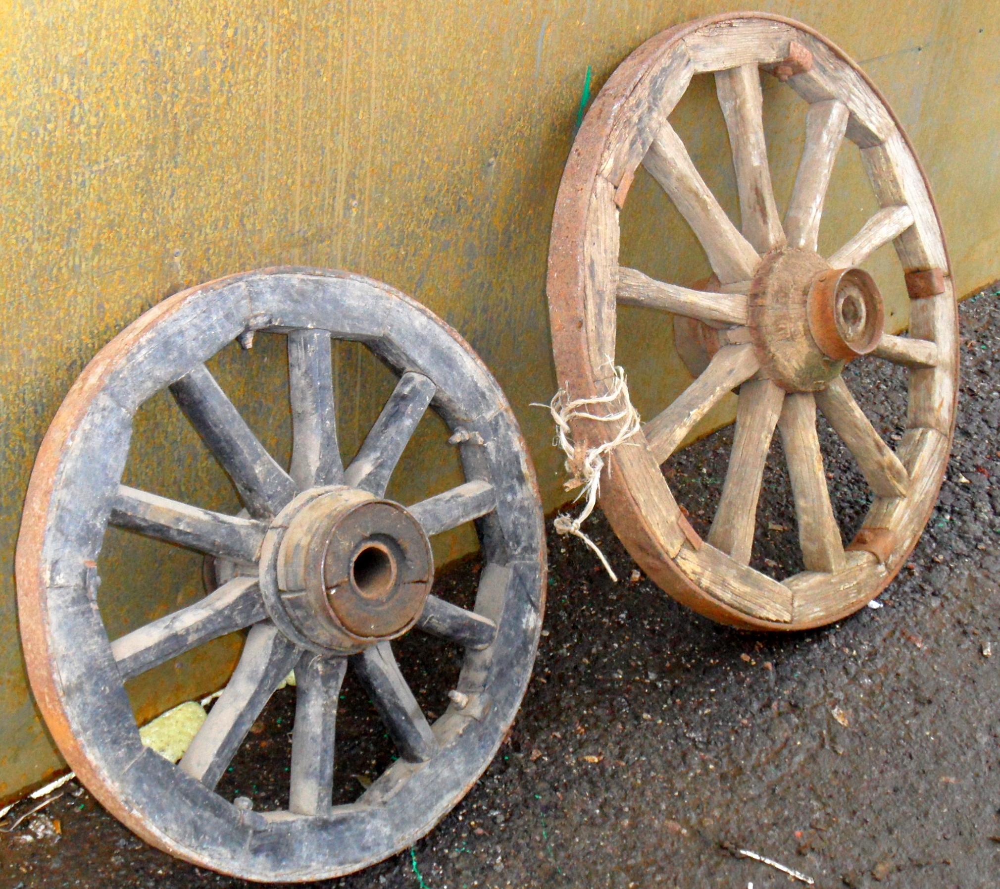 Как сделать колесо от телеги 995