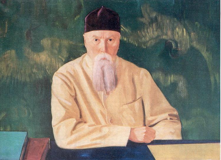 Профессор Николай Рерих.