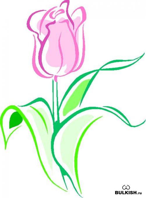 Рисунок смс цветок