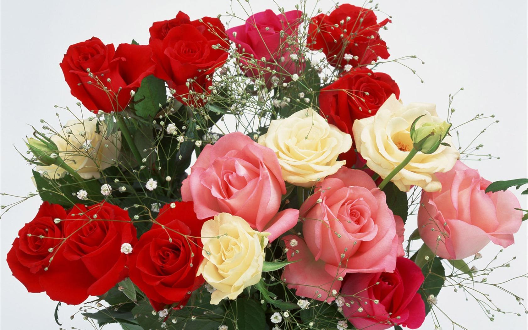 Поздравления с юбилеем с цветами женщине