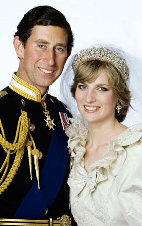 Свадебная фото  Диана и Чарльз