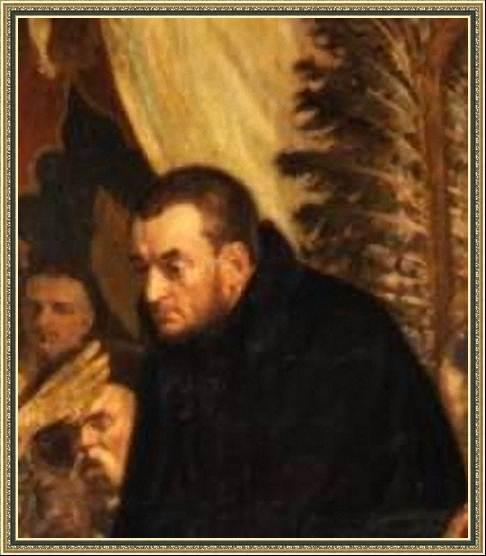 Антонио Поссевино (фрагмент картины Ян Матейко «Баторий под Псковом».)