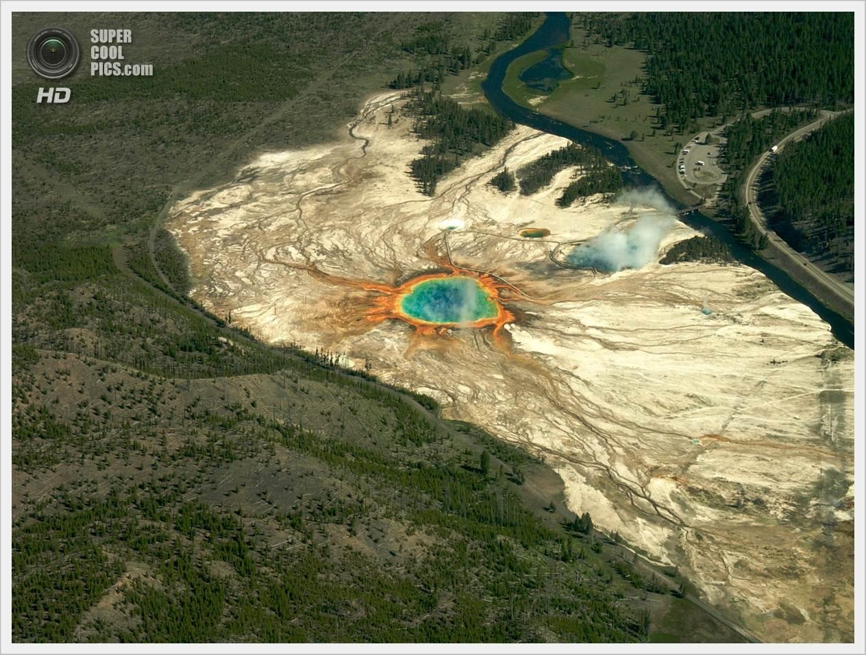 вас обрызгали йеллоустонский вулкан отчет времини думал