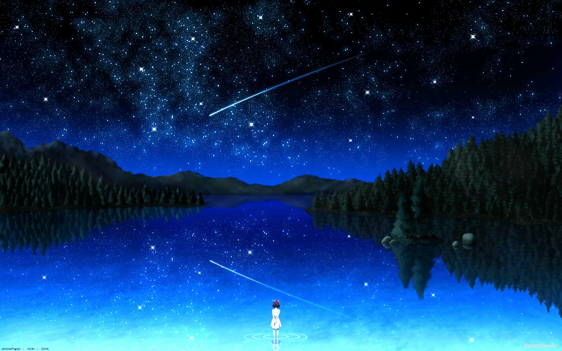 Звездная ночь картинки, хорошо что есть