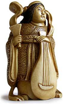 Бэндзайтэн — Богиня счастья, любви, науки и искусства.