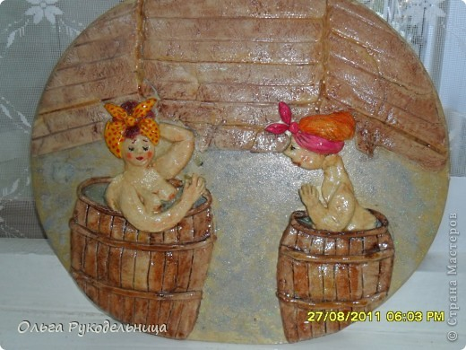 Поделки из соленого теста для бани из