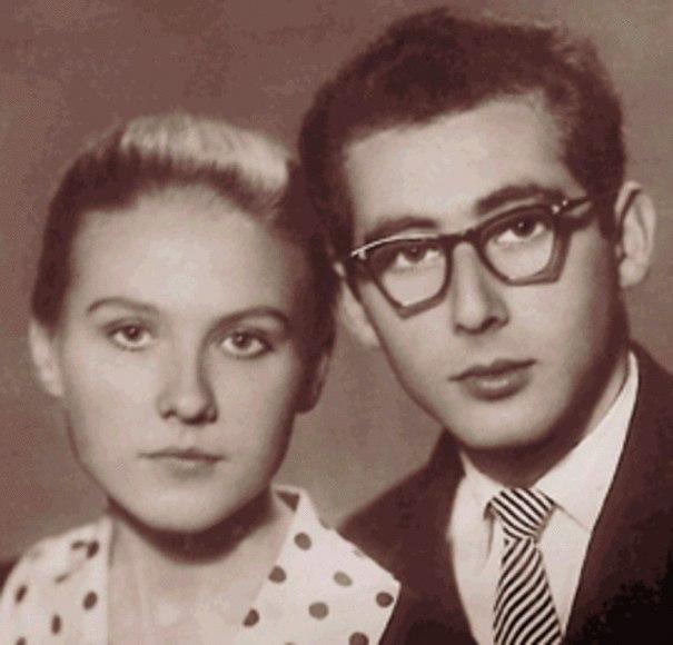 А.Колкер и М.Пахоменко в молодые годы