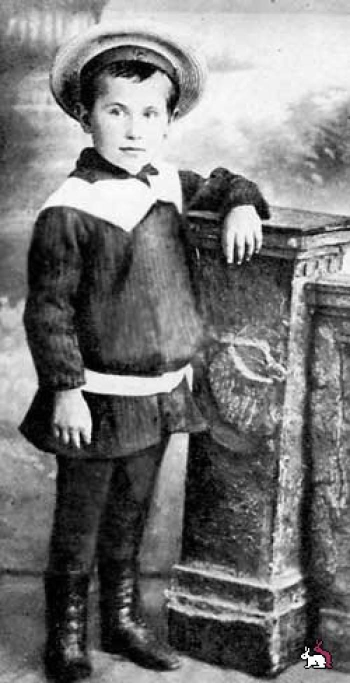 Бернес в детстве