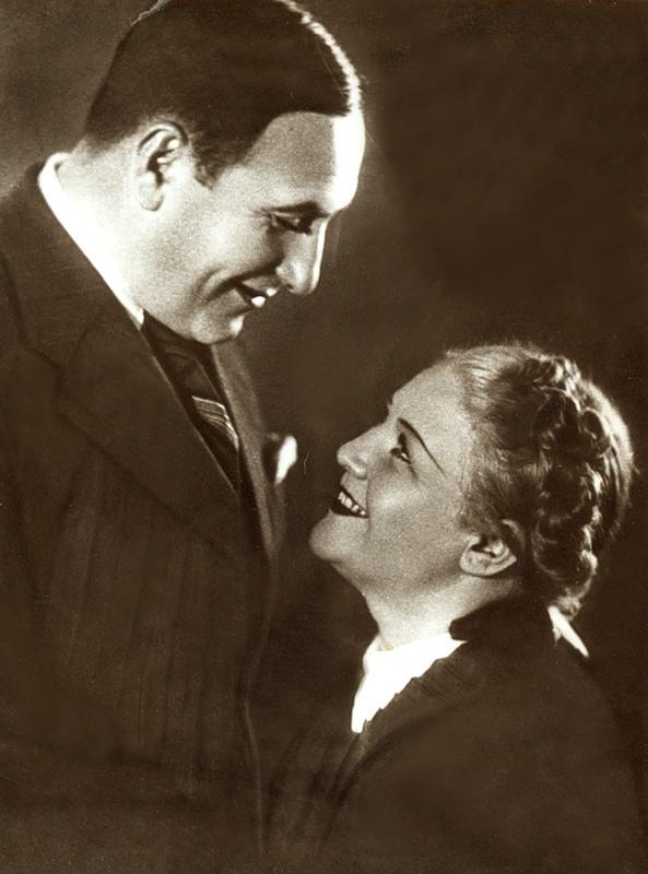 Юрьева с мужем