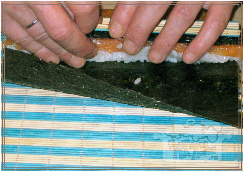 приготовление суши