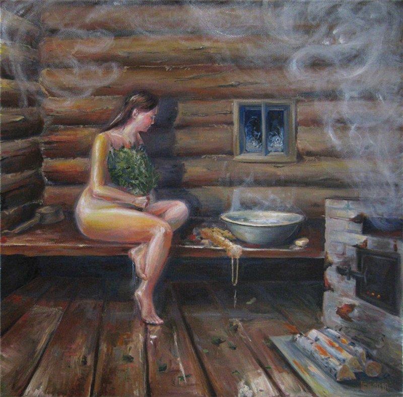 Пикантные истории в бане фото 670-748