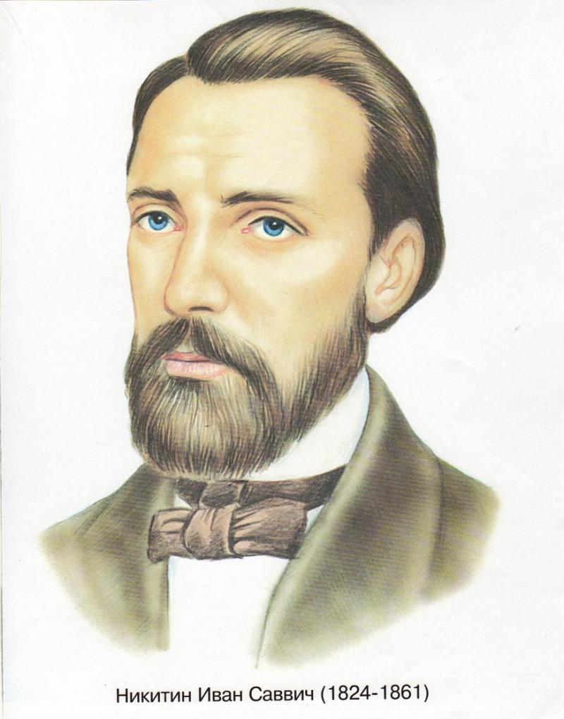 русские поэты и писатели рисунок сцен