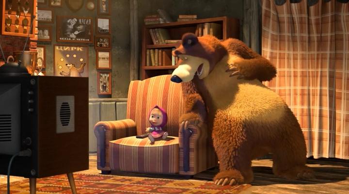 маша и медведь-50 серия
