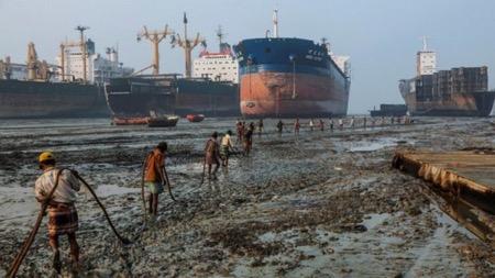 Индийский берег кораблей-мертвецов