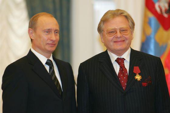Юрий Антонов с Владимиром Путиным