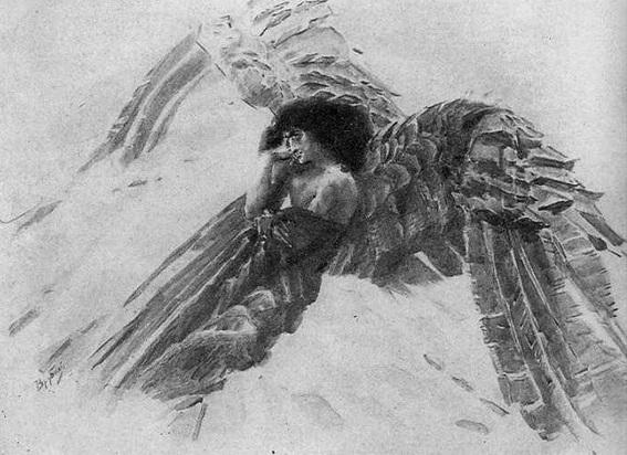 Демон летящий