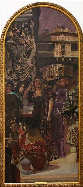 Венеция (Декоративное панно) (1893)