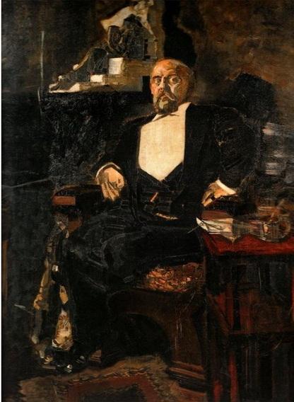 Портрет Саввы Мамонтова (1897)