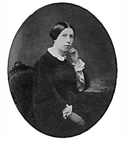 Мать Михаила, Л.Г.Врубель 1850-е годы.