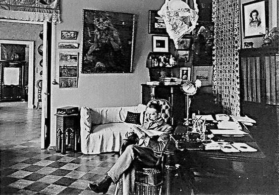 Художник в кабинете. 1899 год.