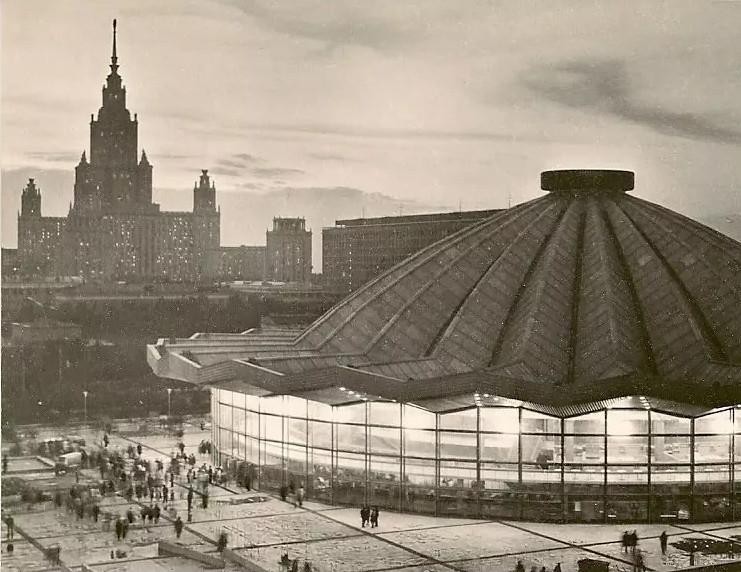 Цирк на Ленинских горах.