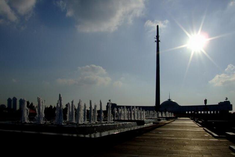 Мемориальный комплекс Победы на Поклонной горе в Москве