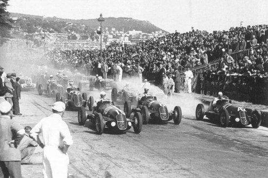 гонка первого чемпионата «Формулы-1»