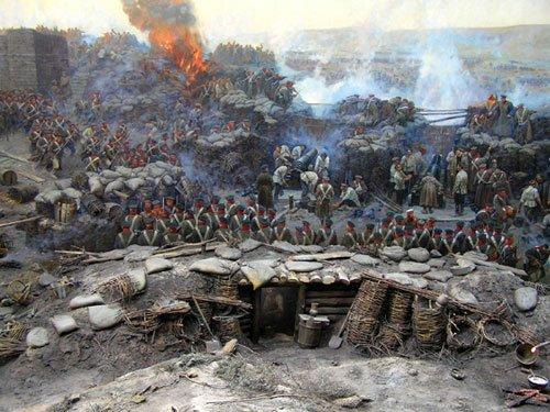 Севастопольская панорама Рубо